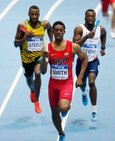 Calvin Smith II - 4x400m