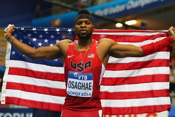 Omo Osaghae - 2014 World Indoor Champion